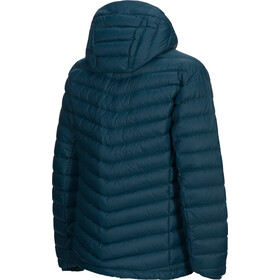 Peak Performance Frost Down Hooded Jacket Men teal extreme